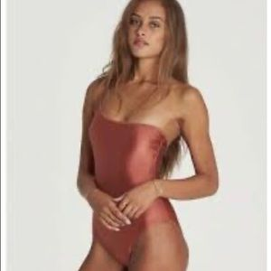 BillaBong Love Bound 1 Piece Swim Copper M